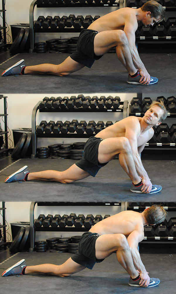 Mobilize More Muscle Lunge and Twist