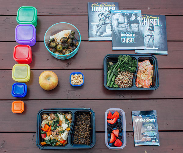 Master's Hammer and Chisel Grain-Free Meal Prep Sample Day