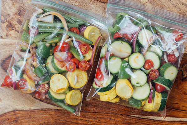 Marinated Summer Veggies Chicken Sausage Recipe Beachbody Blog