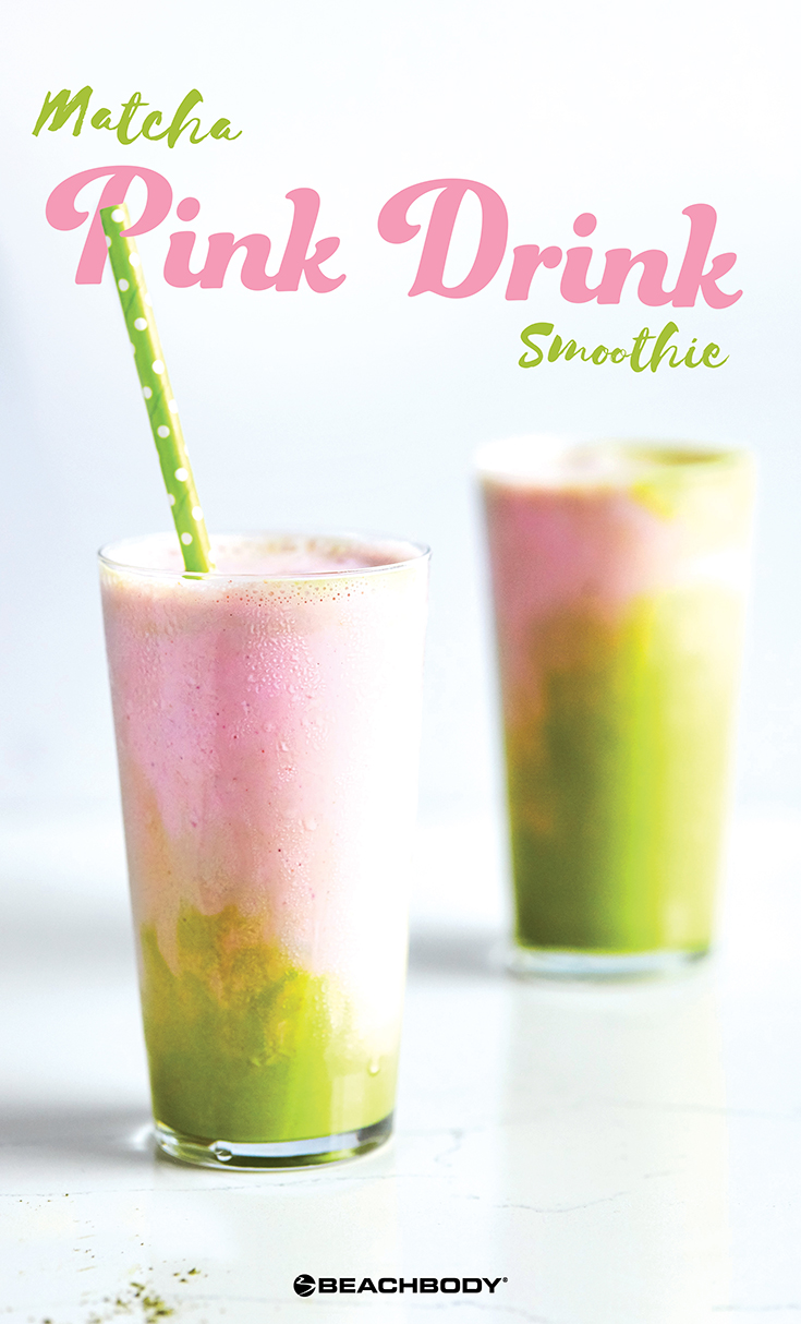 Matcha Pink Drink Smoothie