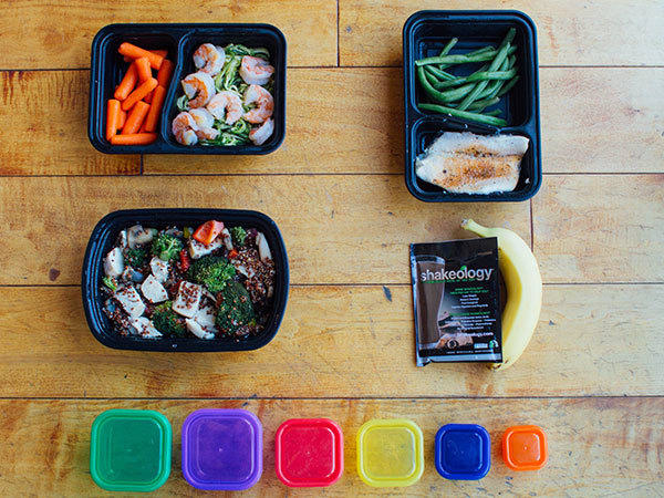 Meal Prep Mondays Sample Day