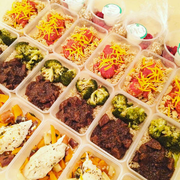 Meal Prep by @welovecleanfood