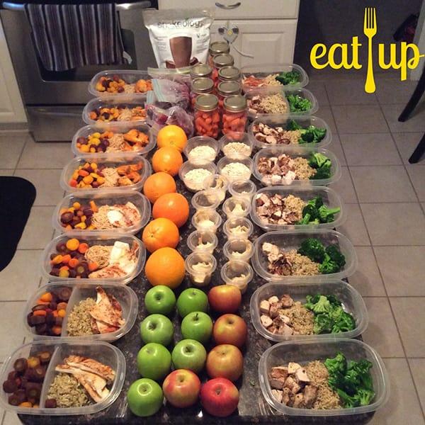 Meal prep by paulsnyderfitness