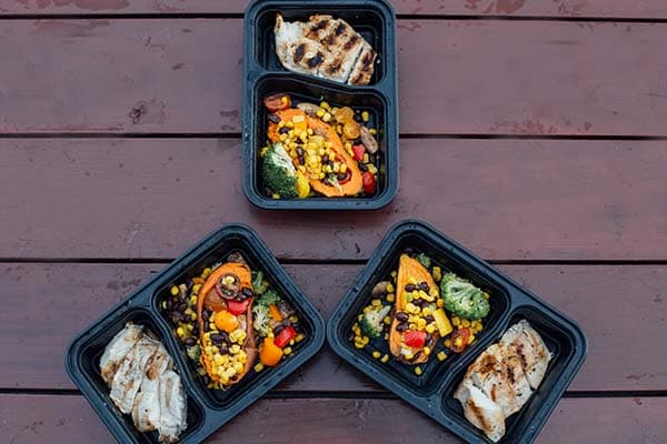 Meal Prep This Week With Stuffed Sweet Potatoes Chicken With