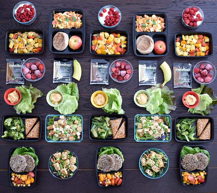 Go Meatless with this Vegetarian Meal Prep for the 22 Minute Hard Corps 1,500-1,800 Calorie Level | BeachbodyBlog.com