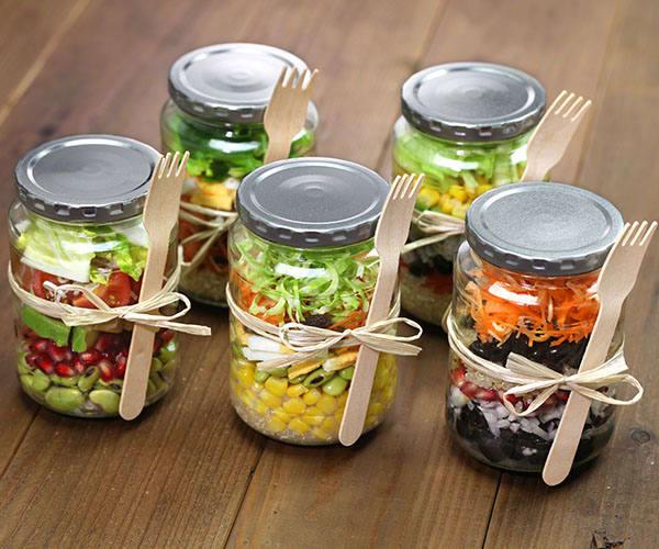 Meal Prep Gift Guide Mason Jar Salads