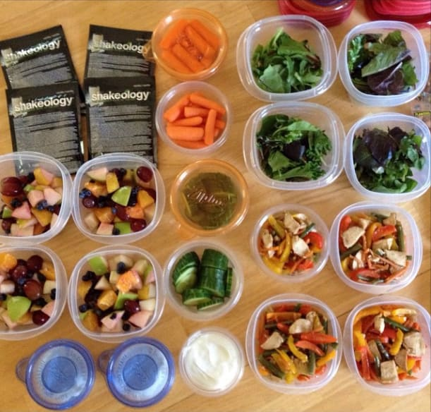 Meal Prep by @fitjennc
