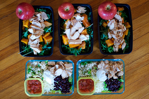 Meal Prep Lunches for the 21 Day Fix 2,100-2,399 Calorie Level | BeachbodyBlog.com