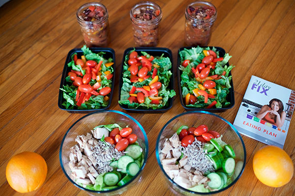 Meal Prep Dinners for the 21 Day Fix 2,100-2,399 Calorie Level | BeachbodyBlog.com