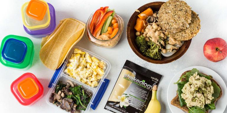 CORE DE FORCEMeal Prep for the 1,800–2,100 Calorie Level