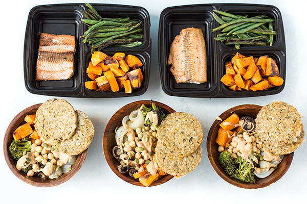 Meal Prep on a Budget CORE DE FORCE 1800-2100 - Dinners