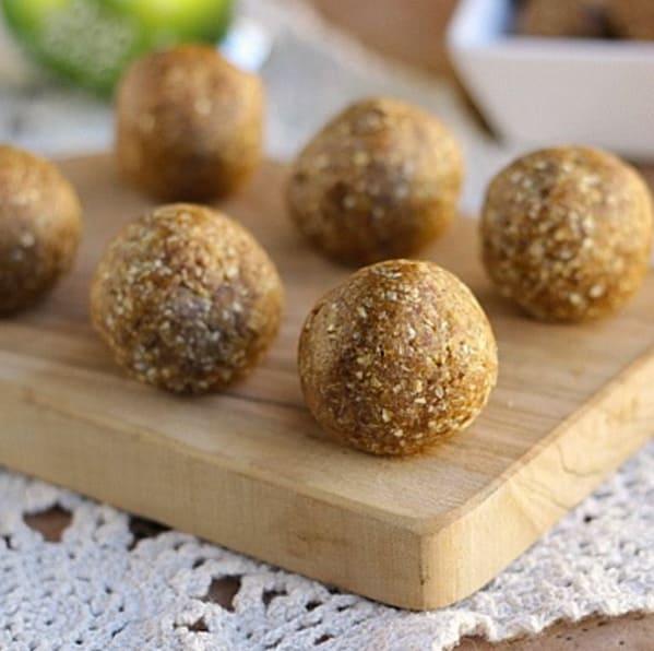 Meal prep snacks energy balls