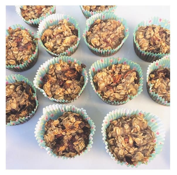 Meal prep snacks baked oatmeal cups oatmeal muffins