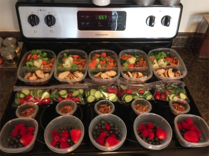 Meal Prep by Sylvie Lisa