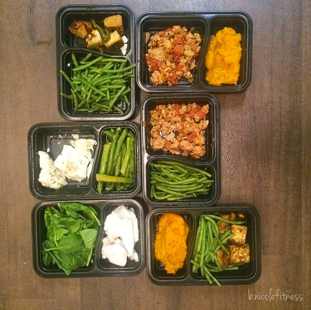 meal prep by b.nicolefitness