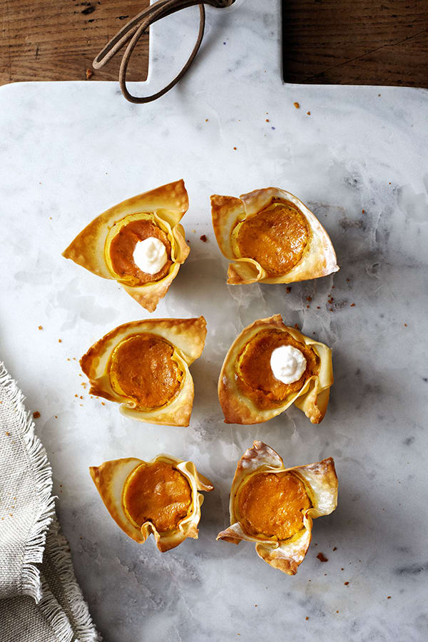 Mini Pumpkin Pie Cups