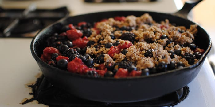 Mixed Berry Crumble recipe