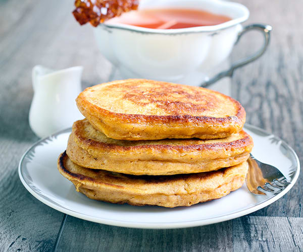 15 Healthy Breakfasts - Multi Grain Banana Pancakes