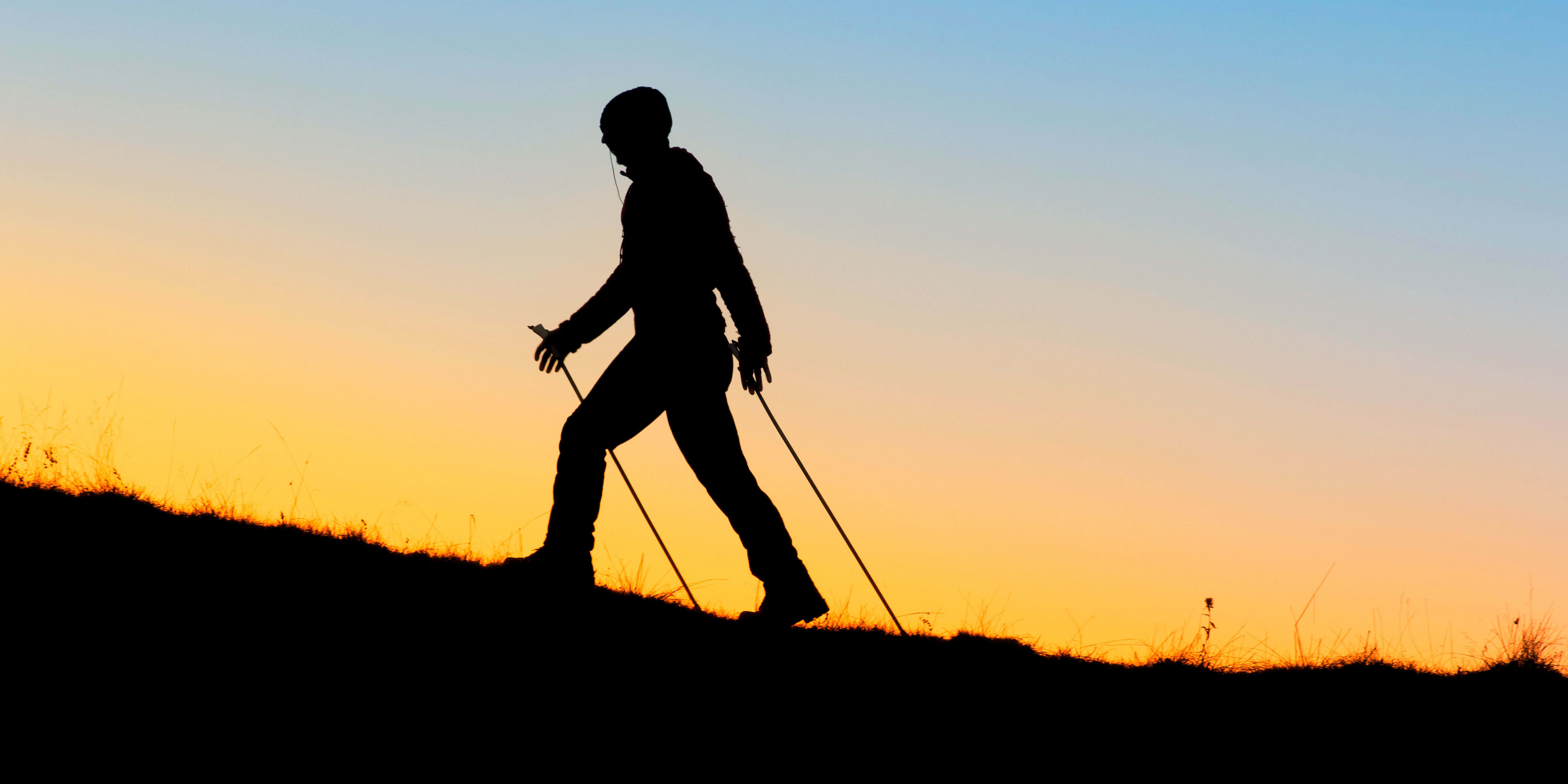 Nordic Walking: How to Burn 20 Percent More Calories on Your Next Hike