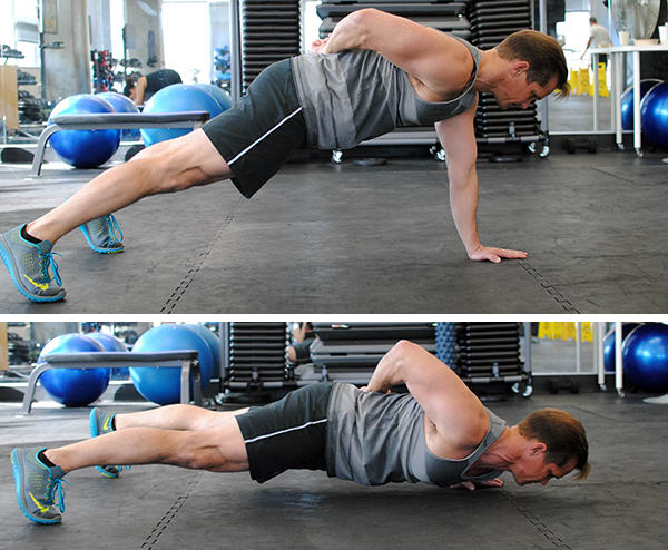 5 Genius Pushup Improvements Single Arm Pushup | BeachbodyBlog.com