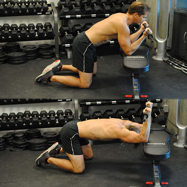 Mobilize More Muscle Overhead Bench Stretch