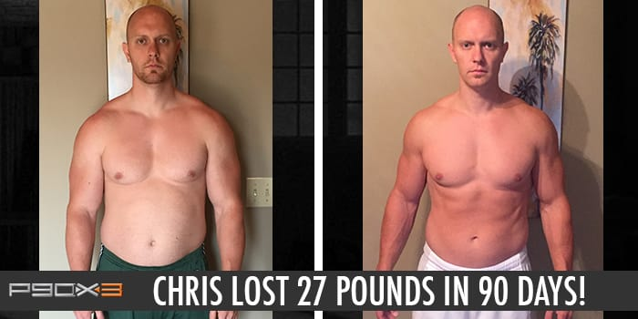 Transformation Tuesday: Chris Lost 27 Pounds with P90X3