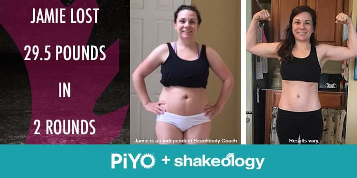 Transformation Tuesday: Jamie Lost 29.5 Pounds With PiYo!