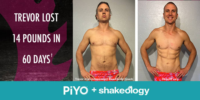 Transformation Tuesday: Trevor Lost 14 Pounds With PiYo!