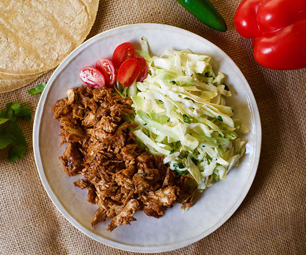Pulled Chipotle Chicken with Cilantro Slaw | BeachbodyBlog.com