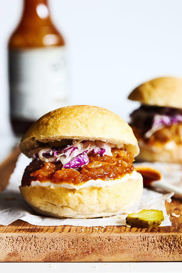 Roasted Spaghetti Squash Sliders