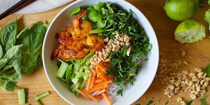Shrimp Noodle Bowl