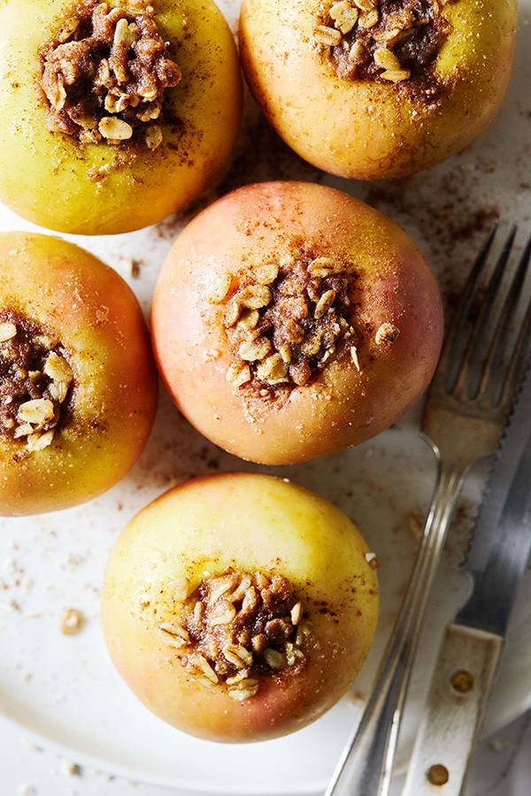 Slow Cooker Baked Apples Recipe