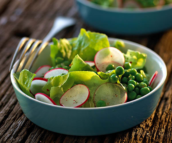 Spring Salad with Peas and Radishes