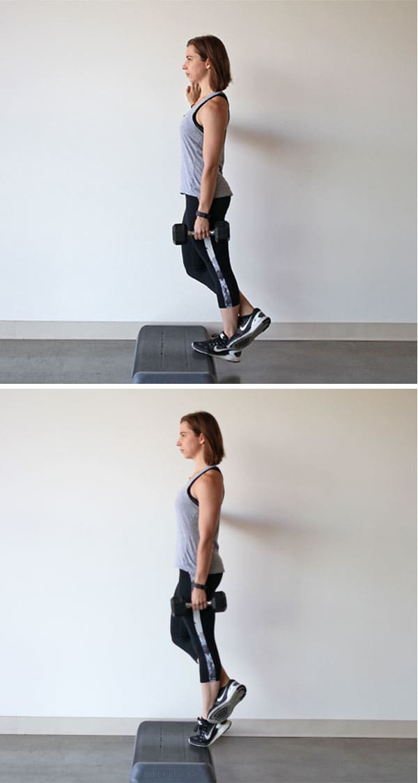 Standing Single-Leg Calf Raise | BeachbodyBlog.com