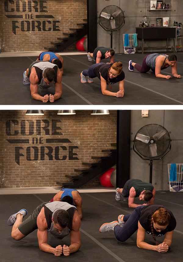 Strong Core Benefits Core De Force Horizontal Leg Check