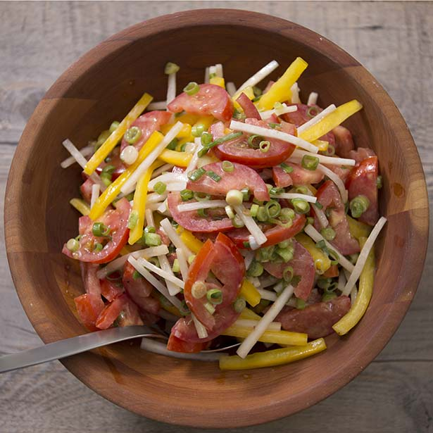 Healthy 4th of July Recipes: Summer Tomato Salad
