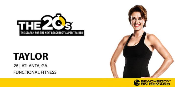 THE 20s Trainer Spotlight: Meet Taylor!