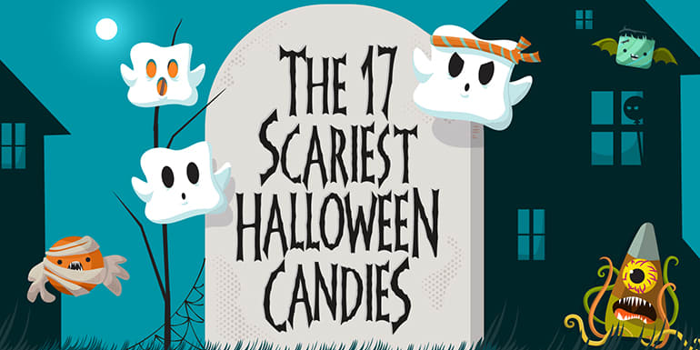 The 17 Scariest Halloween Candies