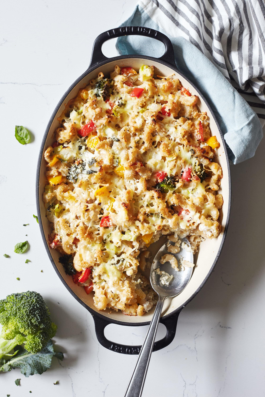 Three Cheese Macaroni Casserole Recipe