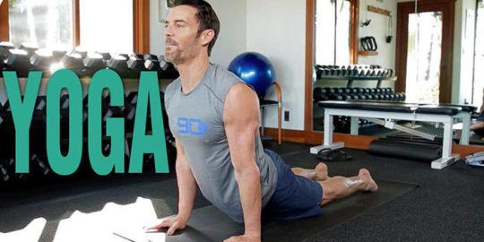 Tony Horton's Daily Yoga Routine