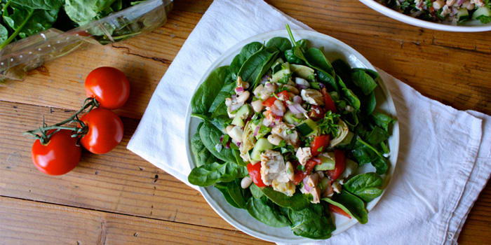 Tuna and White Bean Salad Recipe | The Beachbody Blog