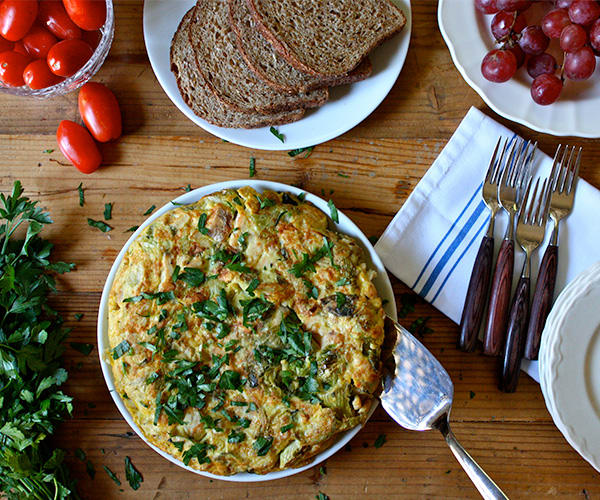 Turkey-and-Brussels-Sprouts-Frittata
