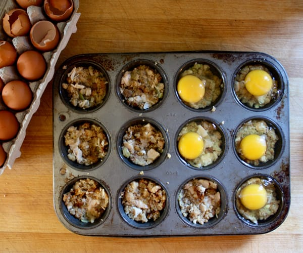 Turkey and Stuffing Egg Cups | BeachbodyBlog.com