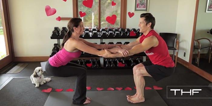 Valentine's Day Partner Yoga with Tony Horton