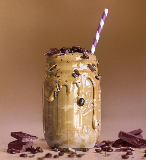 Vegan Mocha Caramel Latte Shakeology