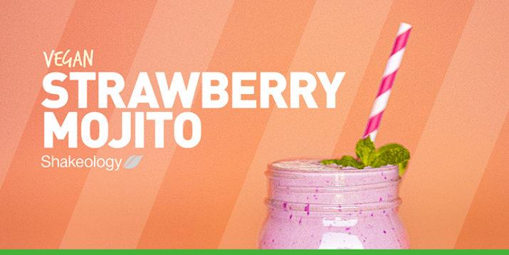 Vegan Strawberry Mojito Shakeology