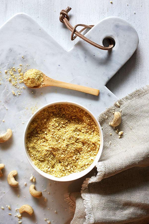 Vegan Cauliflower Rice and Broccoli Gratin