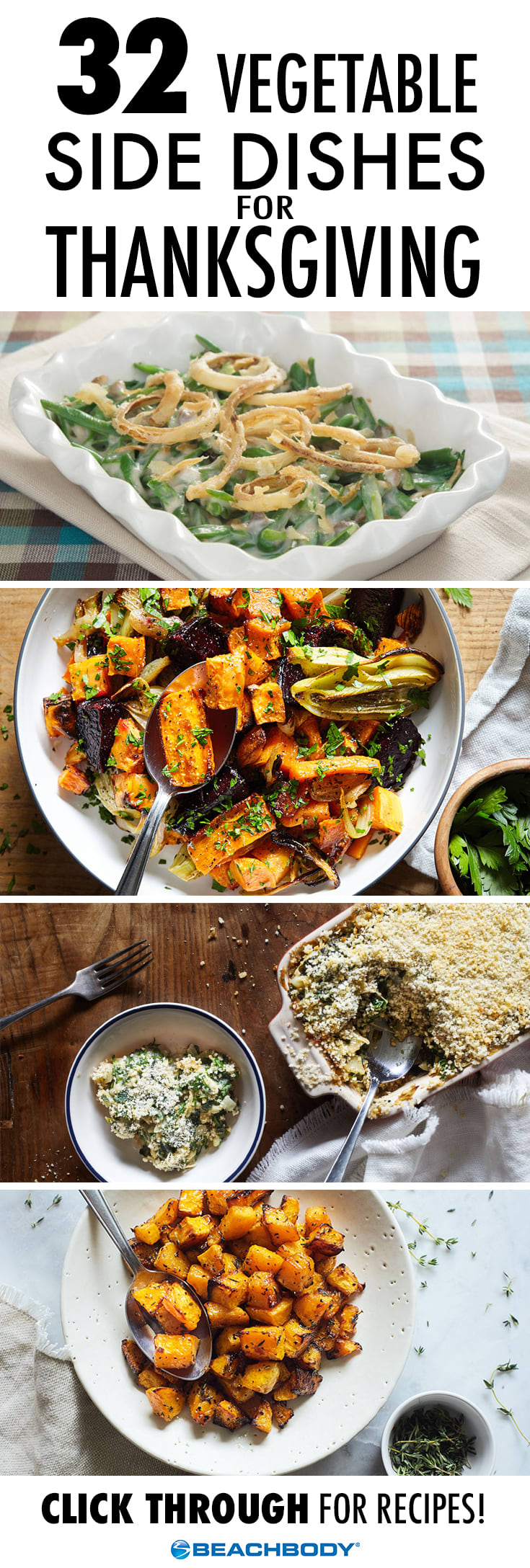 32 Thanksgiving Vegetable Side Dishes