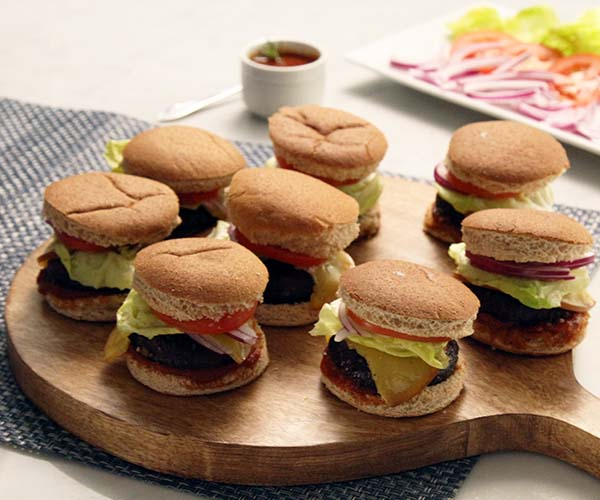 Healthy 4th of July Recipes: Vegetarian Portobello Sliders