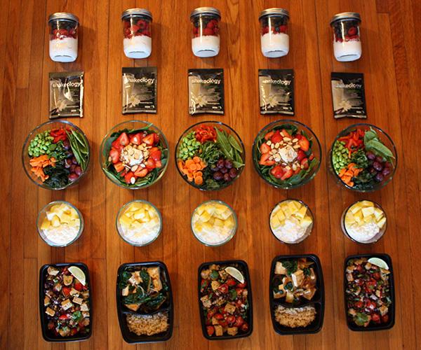 vegetarian meal prep beachbodyblogcom